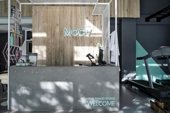 MOOV Exclusive Fitness Studio / Reception